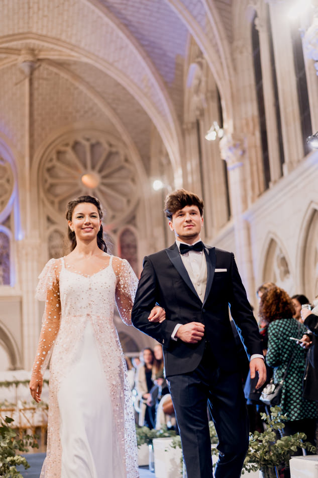 photographe wedding night nantes mariage defile